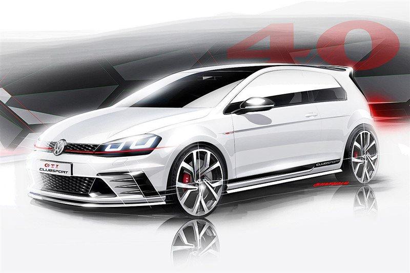 VW Golf GTI Clubsport 2016: Γιορτάζοντας τα 40χρονα των GTI