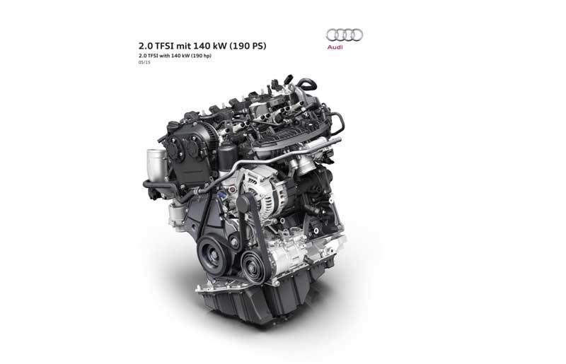 Νέος TFSI 2,0 λίτρων με 190 ίππους από την Audi για το -νέο- Α4